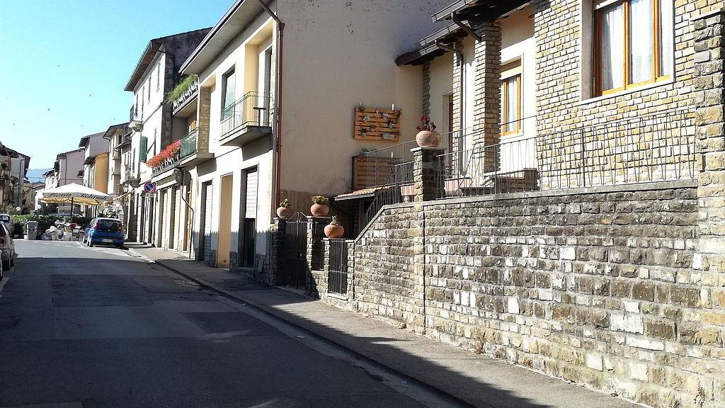 La posizione strategica di Chianti Best House nel centro di Greve in Chianti