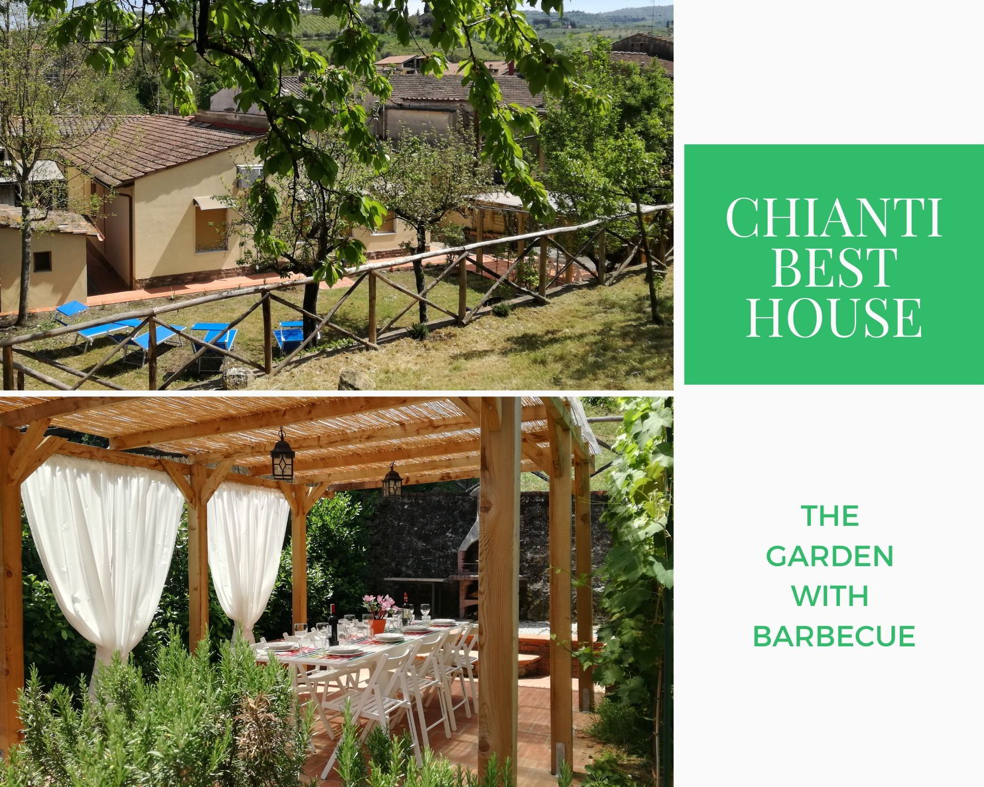 CASA VACANZE CHIANTI BEST HOUSE GARDEN WITH BARBECUE